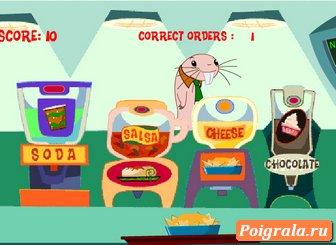 Картинка к игре Руфус на кухне