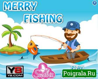 Игра Счастливая рыбалка