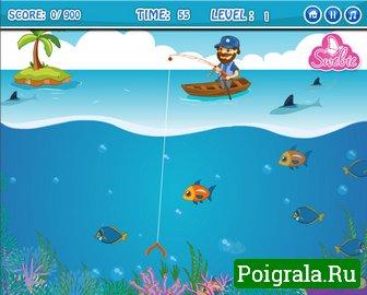 Картинка к игре Счастливая рыбалка