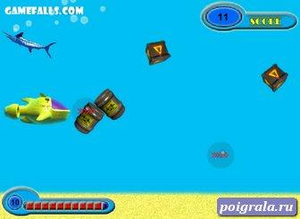 Картинка к игре Микро субмарина