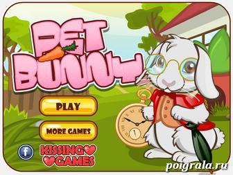 Игра Милый кролик