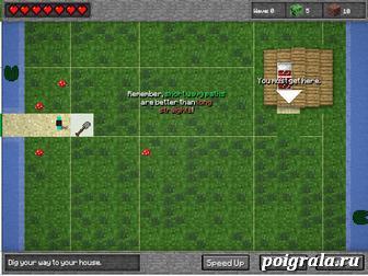 Картинка к игре Minecraft tower defense