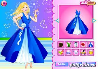 Картинка к игре Одевалка Барби