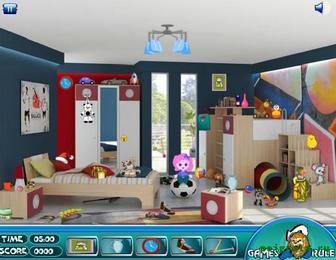 Игра Найди предметы в комнате