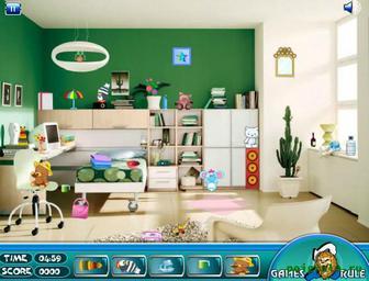 Картинка к игре Найди предметы в комнате