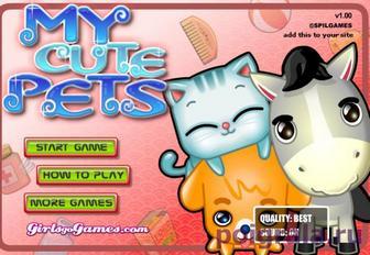 Игра Мои милые домашние животные