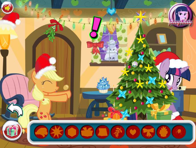 Картинка к игре Май литл пони новый год