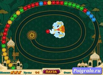 Картинка к игре Зума индийские шарики