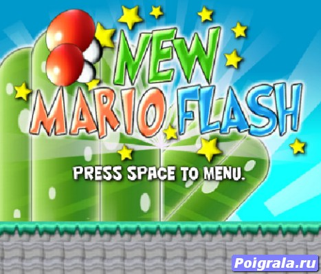 Игра Новое приключение Марио