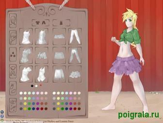 Картинка к игре Девушка из Эквестрии Эпплджек, одевалка