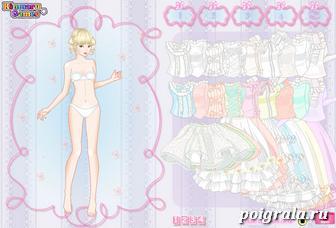 Свадебное платье для девочки картинка 1