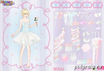 Картинка к игре Свадебное платье для девочки