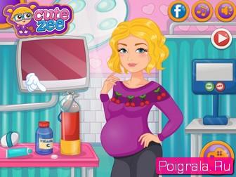 Картинка к игре Беременная девушка Нелли