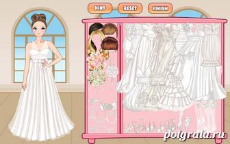 Картинка к игре Невеста в белом платье