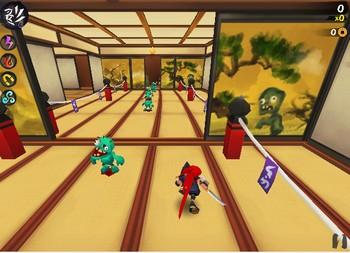 Картинка к игре Беги ниндзя, беги