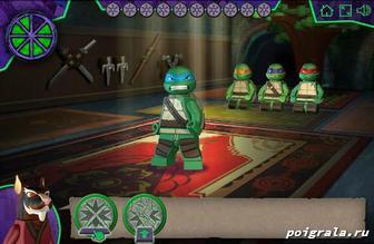 Картинка к игре Тренировка черепашек ниндзя