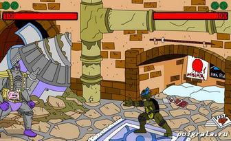 Картинка к игре Драки черепашки ниндзя