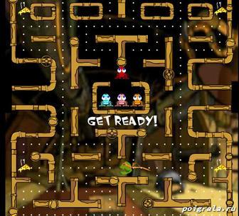 Картинка к игре Ninja turtles pacman
