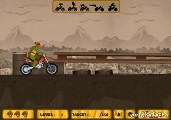 Картинка к игре Ниндзя на мотоцикле