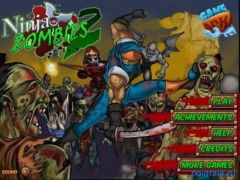Ниндзя против зомби 2 картинка 1