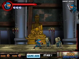 Картинка к игре Ниндзя против зомби 2