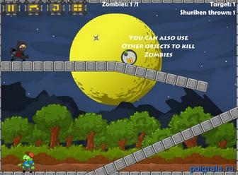 Картинка к игре Ниндзя против зомби