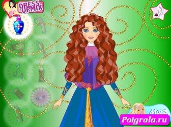 Картинка к игре Прическа принцессы Мериды