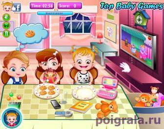 Картинка к игре Обед с малышкой Хейзел
