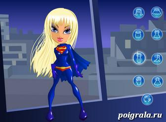 Картинка к игре Одевалка супердевочки