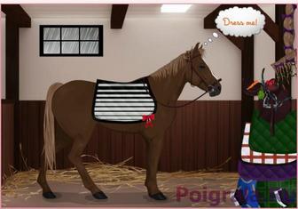 Картинка к игре Одевалка лошади