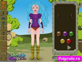 Картинка к игре Оденьте девушку Мериду