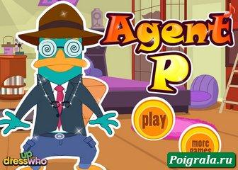 Игра Оденьте агента Пи