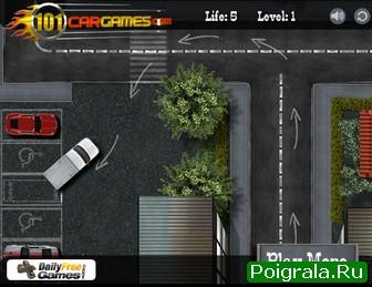 Картинка к игре Парковка джипа