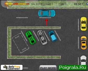 Картинка к игре Парковка машины