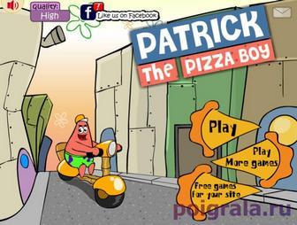 Патрик развозит пиццу картинка 1
