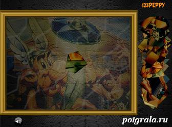 Картинка к игре Астерикс и Обеликс на битве