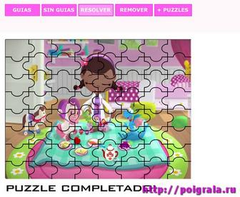 Картинка к игре Пазл с доктором Плюшевой