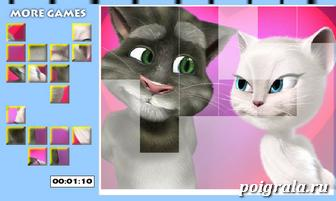 Картинка к игре Пазл Анжела и Том