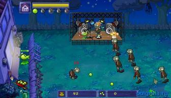 Картинка к игре Горох против зомби