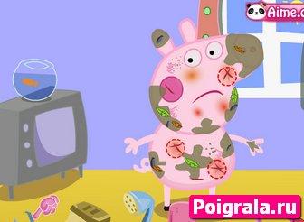 Картинка к игре Уход за свинкой Пеппой