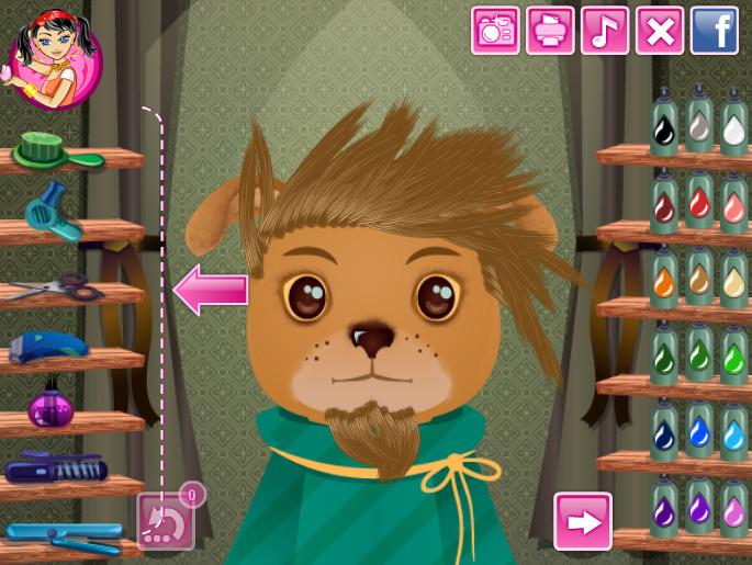 Картинка к игре Парикмахерская для животных
