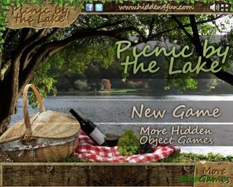 Пикник на озере картинка 1