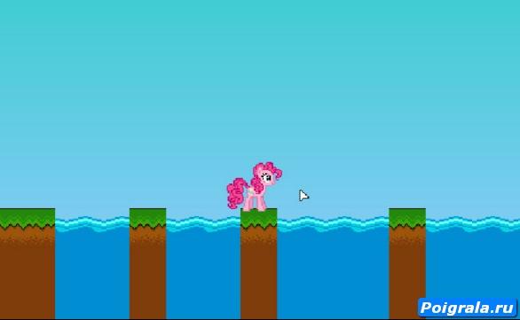 Картинка к игре Приключения Пинки Пай