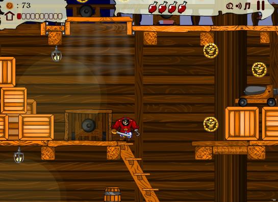 Картинка к игре Пиратское сердце