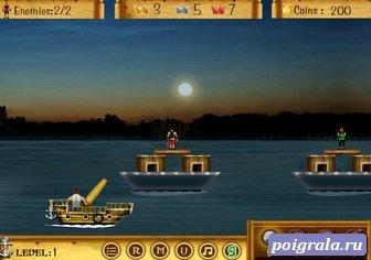 Картинка к игре Пираты красного моря