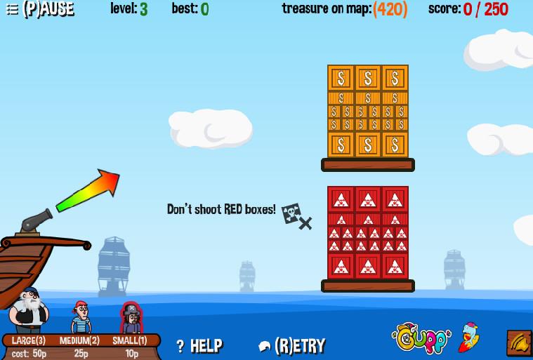 Картинка к игре Пиратская пушка