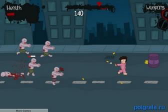 Картинка к игре Побег от зомби