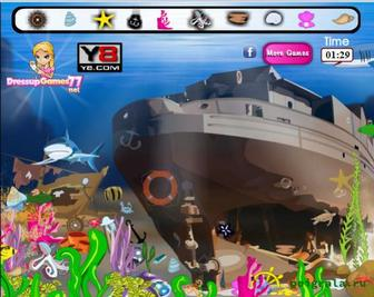 Игра Поиск предметов на морском дне
