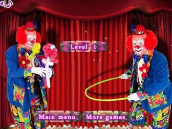 Найди предметы в цирке картинка 1