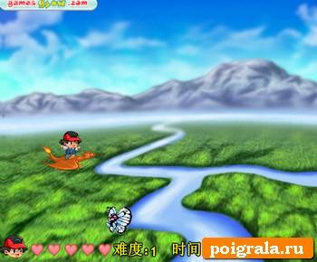 Картинка к игре Покемоны, небесная битва
